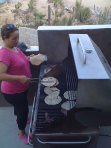 Cooking Fresh Tortillas
