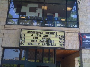 On the Marquee!