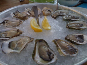 Oysters @ Perlas