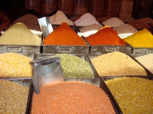 Indian Spice Stall Inspires Fall